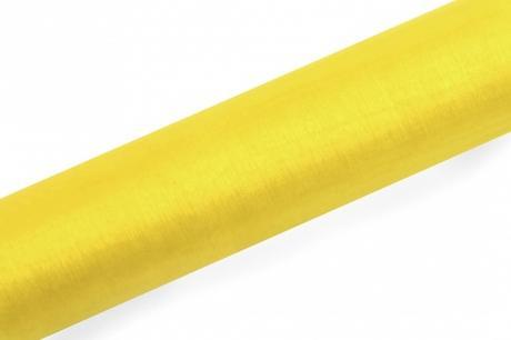 Organza žltá 16cm/9m,