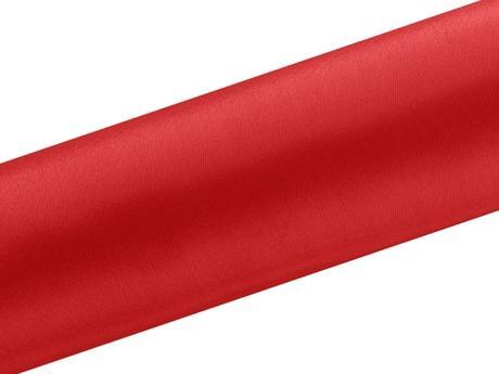Satén červený 16cm/9m,