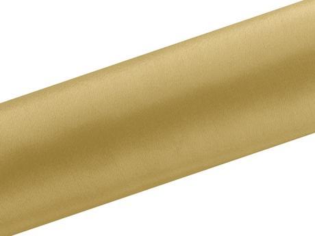 Satén zlatý 16cm/9m,