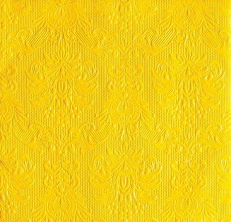 Servítky reliéfne žlté,