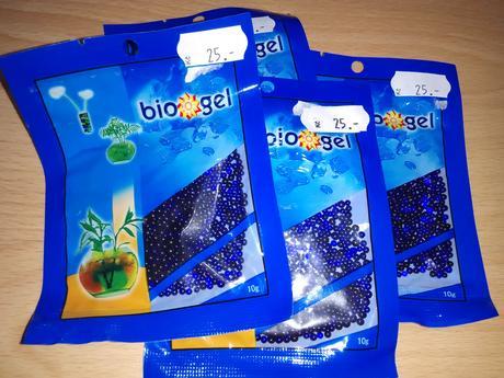 Gelové kuličky - vodní perly,
