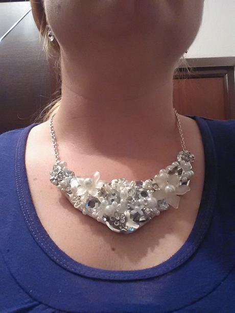 Svatební náhrdelník,