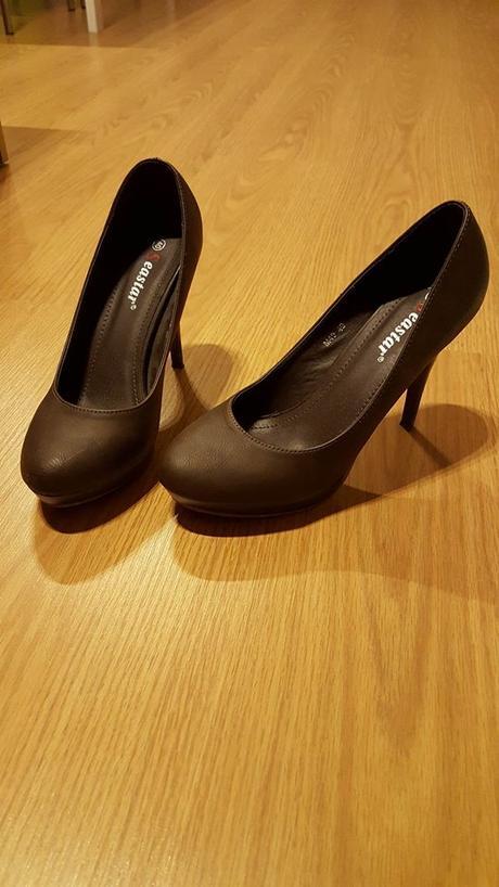 Čokoládové lodičky č.40 (1x obuté), 40