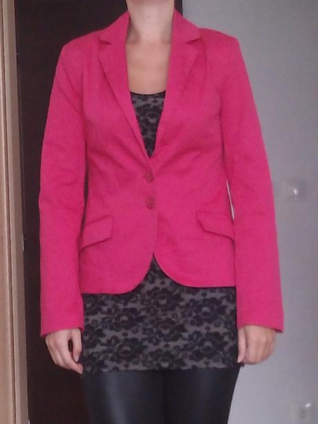 Ružové elegantné sako, 38