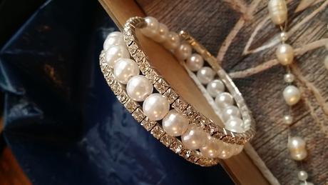 Perlový set pro nevěstu,
