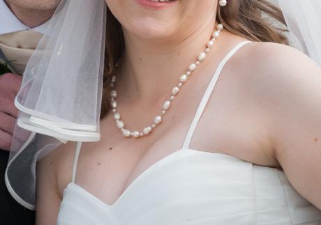 Ručně vyráběný perlový set pro nevěstu,
