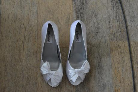 Svatební boty na podpatku, 40
