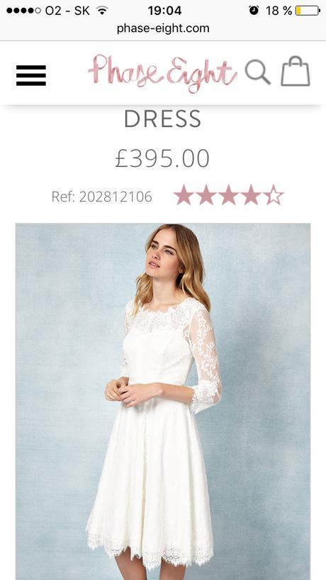 Čipkovane svadobné šaty , 36