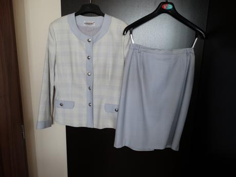 dámský kostýmek (styl coco chanel), 40