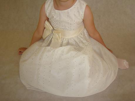 Luxussne nenosene Crayon Kids spoločenske šaty, 110