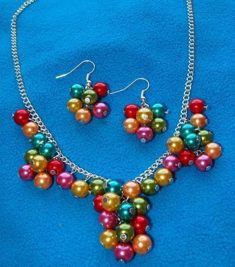 Barevný náhrdelník colorful,