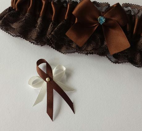 Čokoládové - hnědé vývazky,