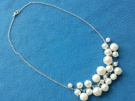 Jemný svatební náhrdelník a naušničky dle přání,