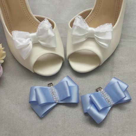 Klipy na boty s krajkou odstín dle přání,