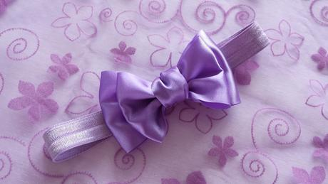 Luxusní lila pásek se SW srdíčkem,