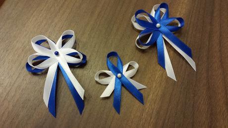 Modré variace - vývazky,