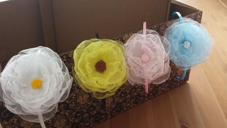 Slunečnice - kytička pro družičku,