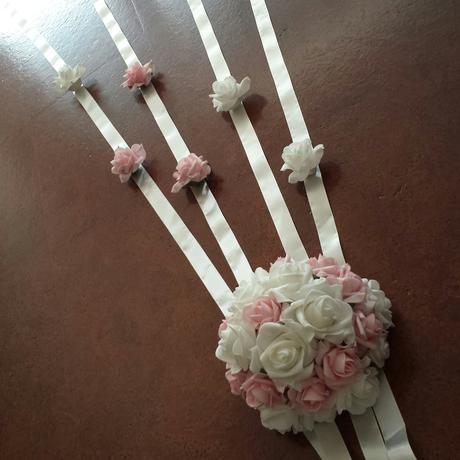 """Svatební náhrdelník+naušnice """"Michele"""" ivory/ bílá,"""