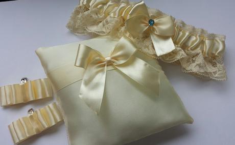 """Svatební náramek """"Michele"""" cinkáček ivory+lososová,"""