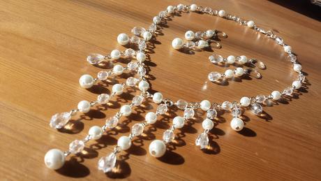 Svatební vodopád perličky a ohňovky,
