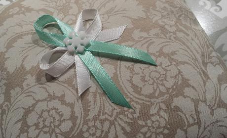 Svatební vývazky odstíny MODRÉ,