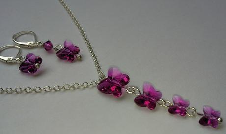 Swarovski Butterfly Light Rose,