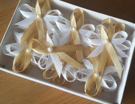 Zlaté svatební vývazky,