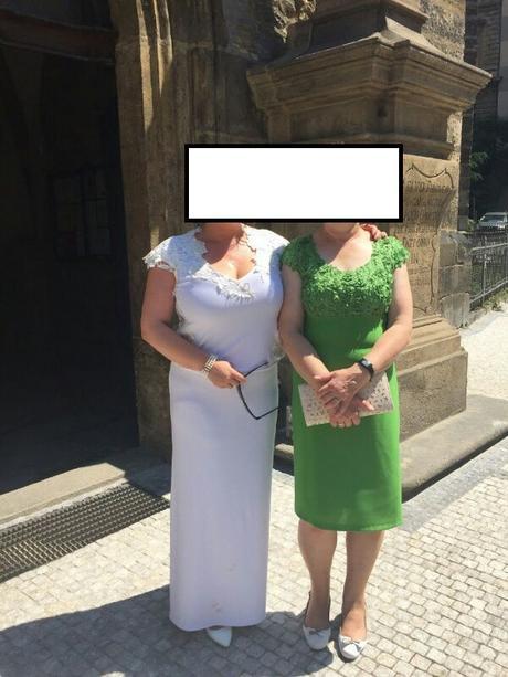 Svadobné šaty velkost 44 az 48, 44