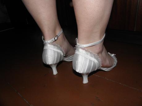 Svatební bílé boty, 37
