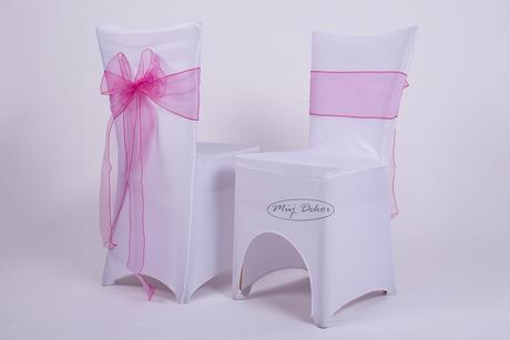 Svatební potahy na židle - půjčovna,