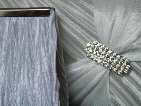 Saténová kabelka se štrasovou sponou č. 2,