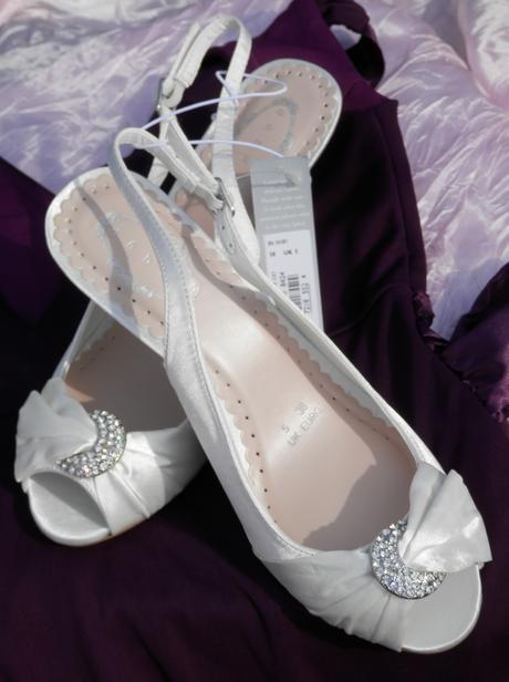 Svatební botičky s broží, 38