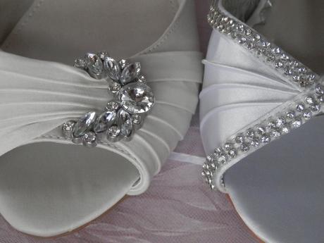 Svatební botičky s broží vel.40, 40
