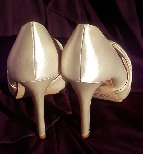 Svatební střevíčky Nicol  - vel. 40, 40