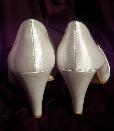 Svatební střevíčky s broží , 38