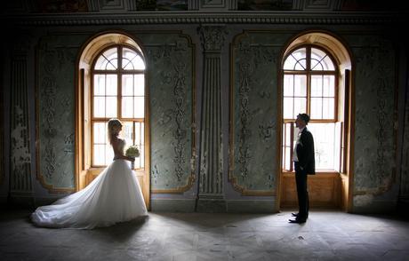 Luxusné svadobné šaty-Zľava, 38
