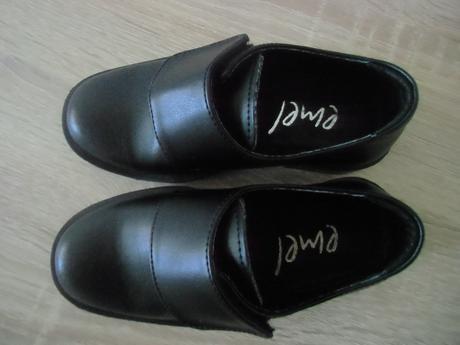 chlapčenské kožené topánky, 25