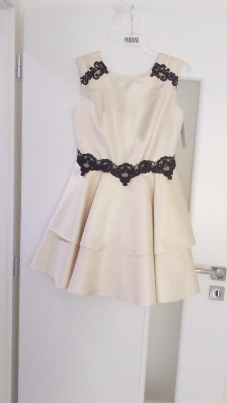 zlaté šaty - popolnočky, 38