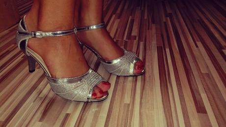 Tanečné sandálky, 36