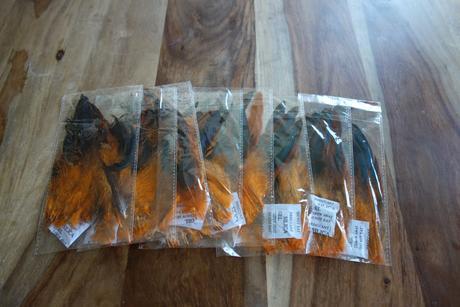 180ks - Ozdobné kohoutí peří, 13-18cm,