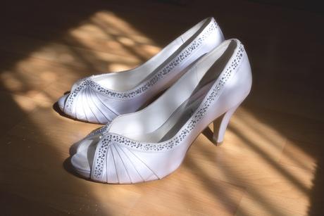 Svadobné topánky s kamienkami, 39