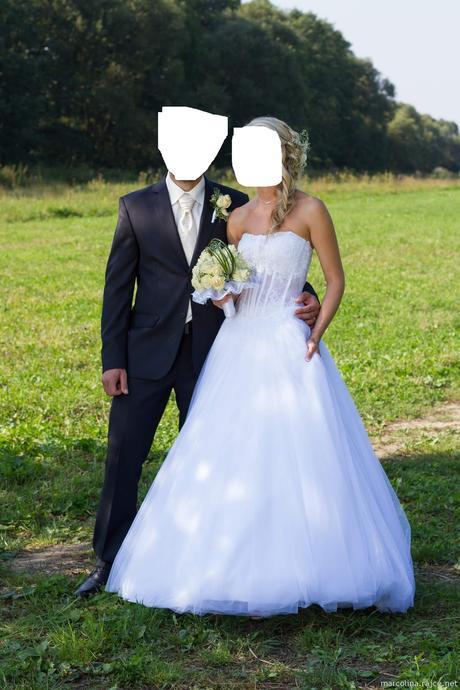 svatební šaty Agnes vel. 34-38 , 36