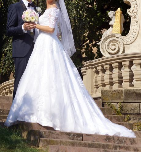 Svadobné šaty zn. Pronovias Suzanna Rivieri, 36