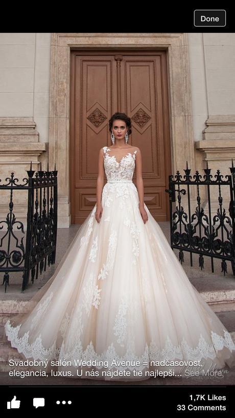 Nádherne svadobné šaty značky Millanova Barcelona , 36