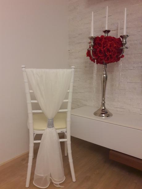 prehozy na stoličky + štrás,