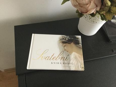 Kniha hostů vintage styl,