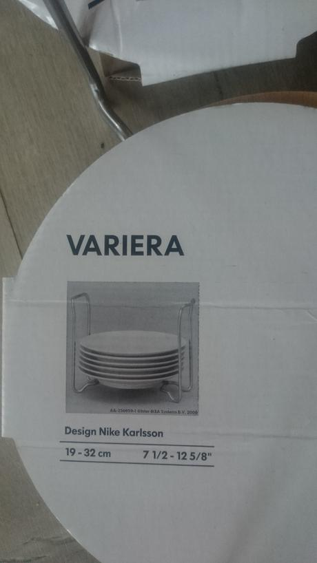 Ulozny system na taniere Ikea,
