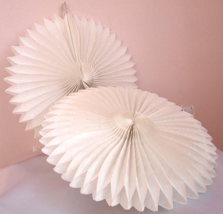 Dekorativní vějíř, 30cm,