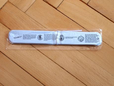 Pom poms - bílé, 20cm,