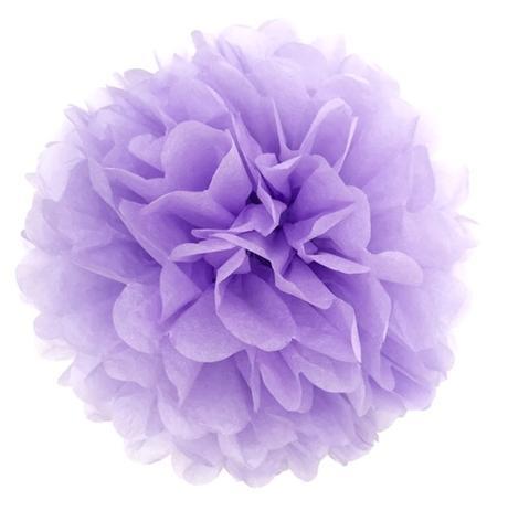 Pom poms - fialové, 20cm,